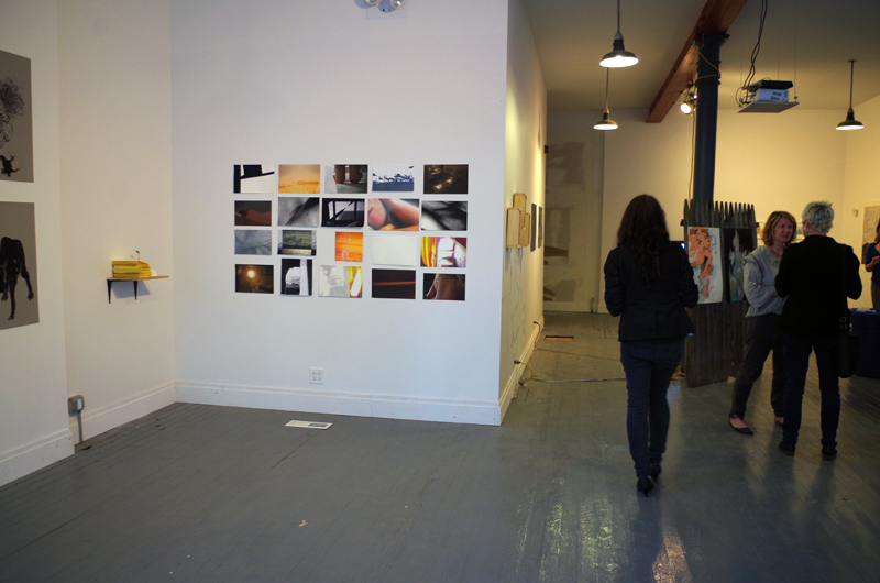 Work for Check for Traps: a printmaking department show