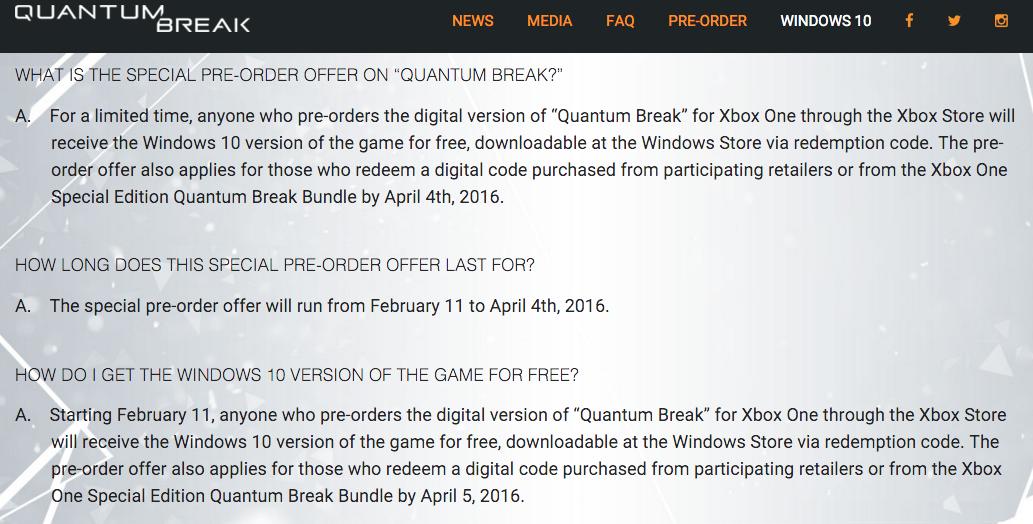 http://www.quantumbreak.com/windows10/