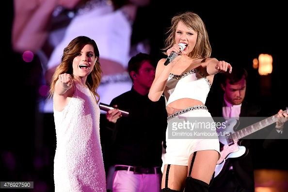 Syndey Sierota/ Echosmith performance with Taylor Swift- Makeup and Hair by Aleksandra Ambrozy