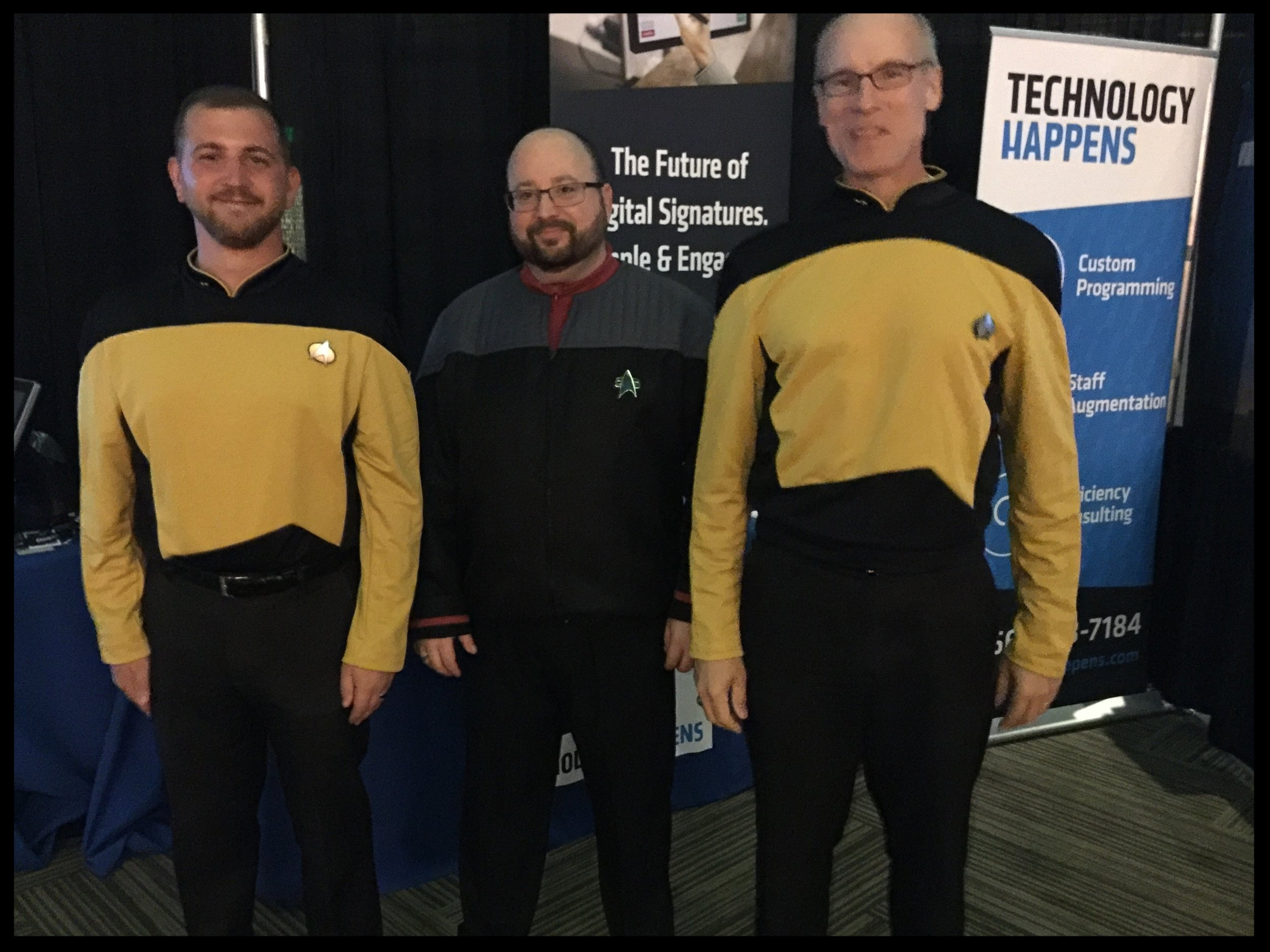 Boldly Going Where No Code Has    Gone Before!    Live Long and Program!