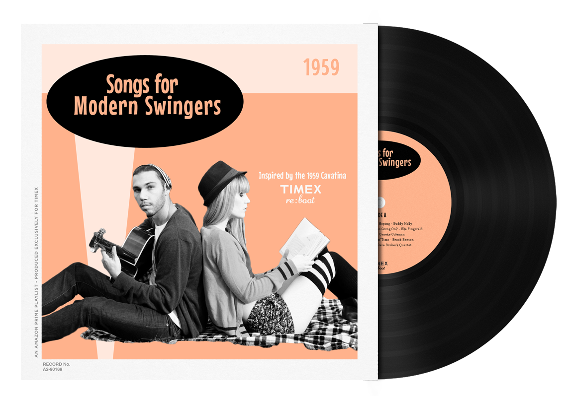 A 50's playlist will be released on Spotify as well as on Vinyl, the popular media of the 50's.