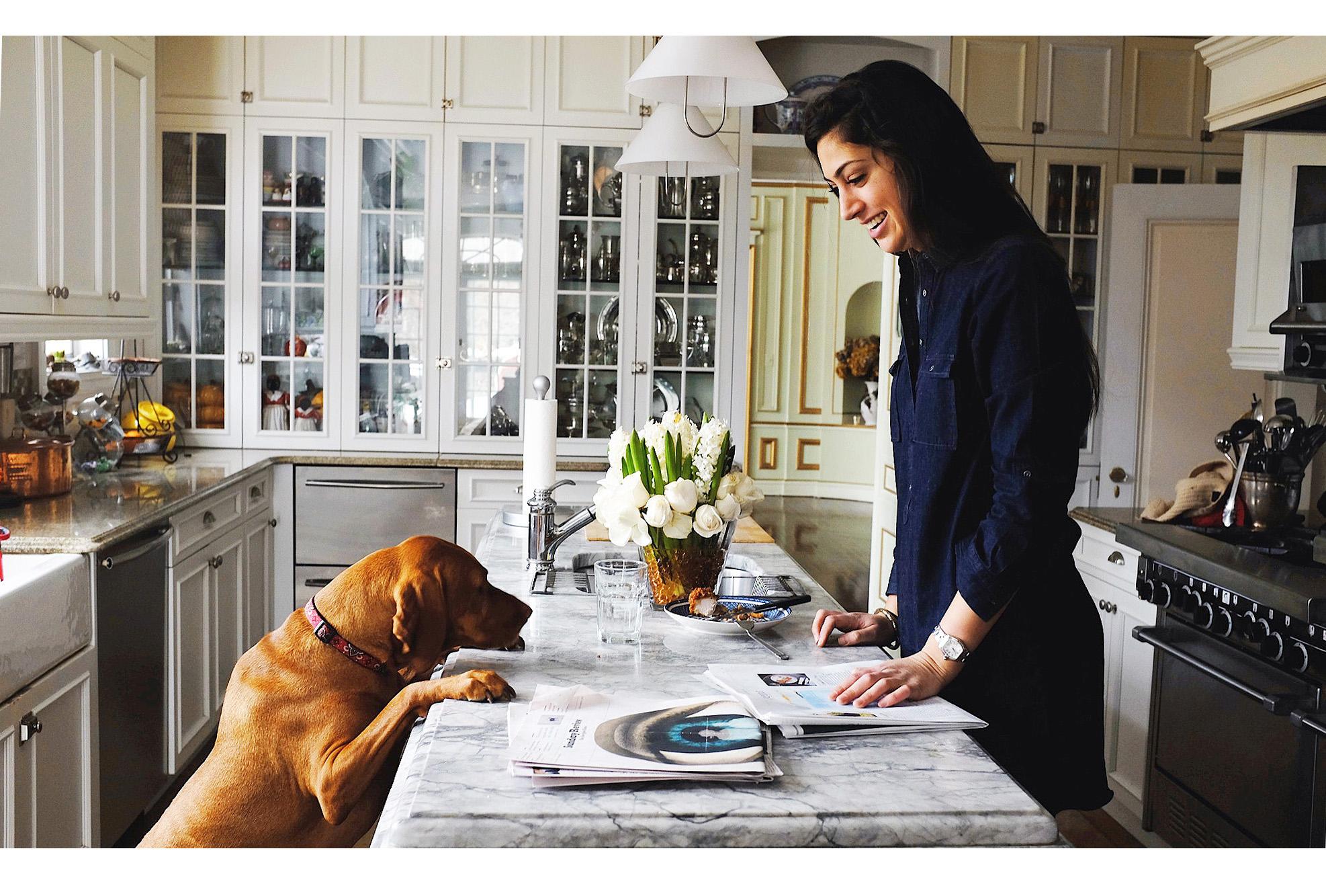 Chefanie at home. Photo credit:  Agnes Fischer