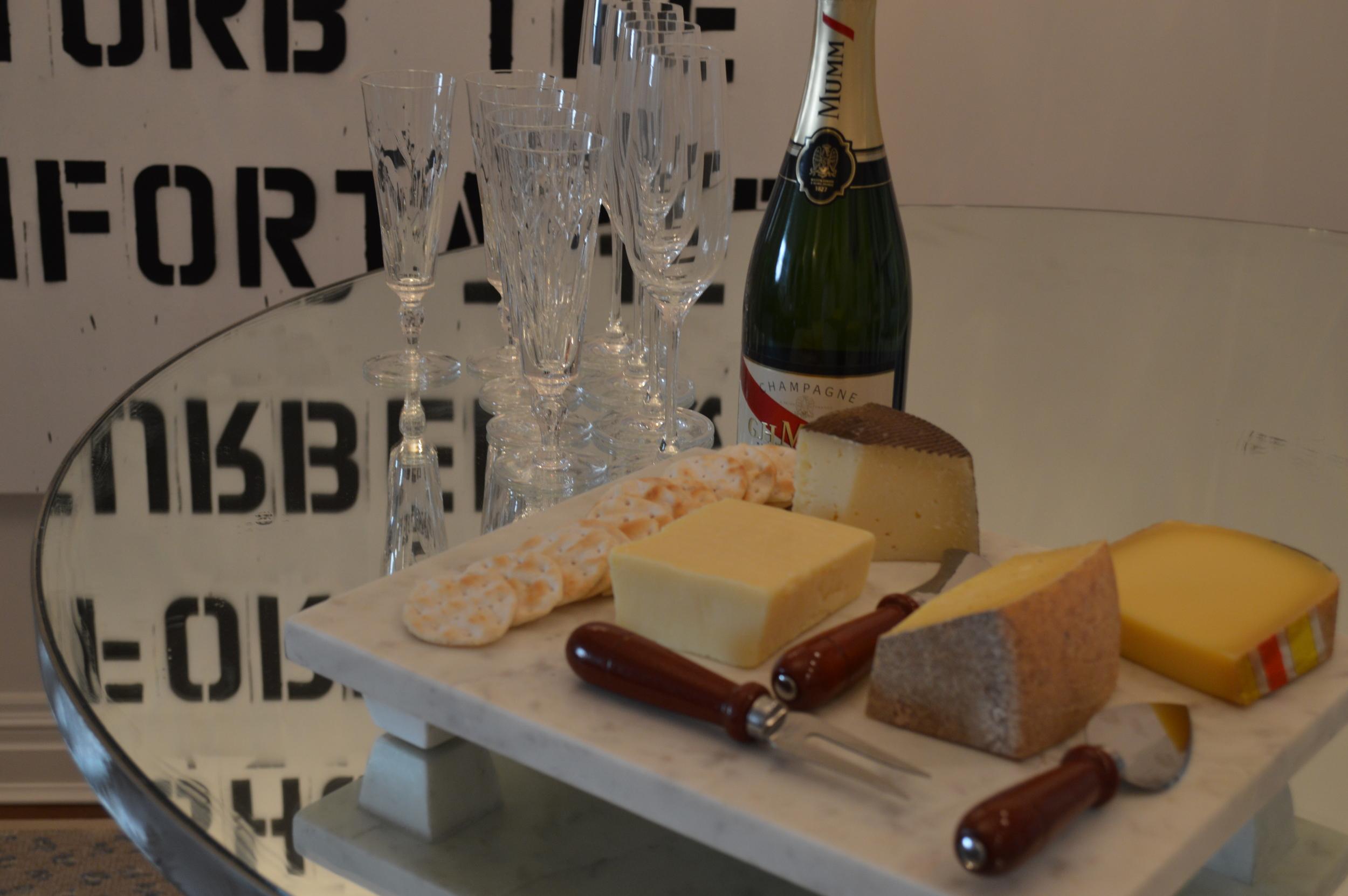 Champagne courtesy of GH Mumm