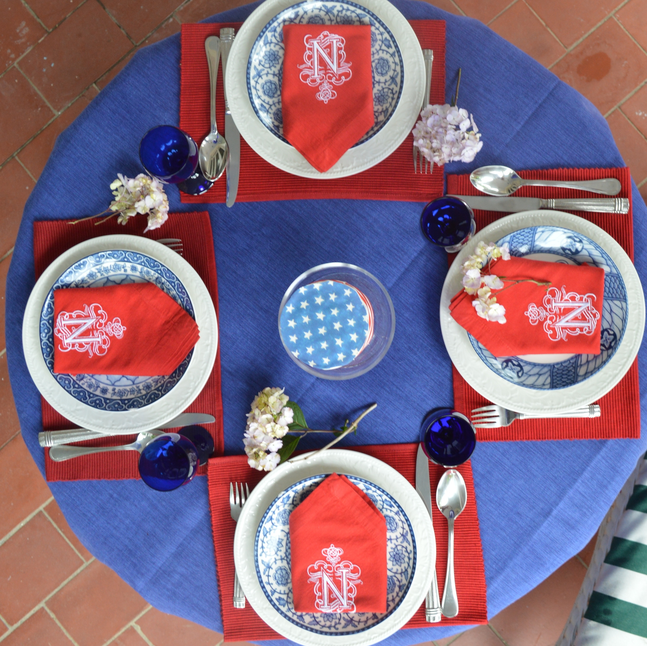 Table Tondo July 4