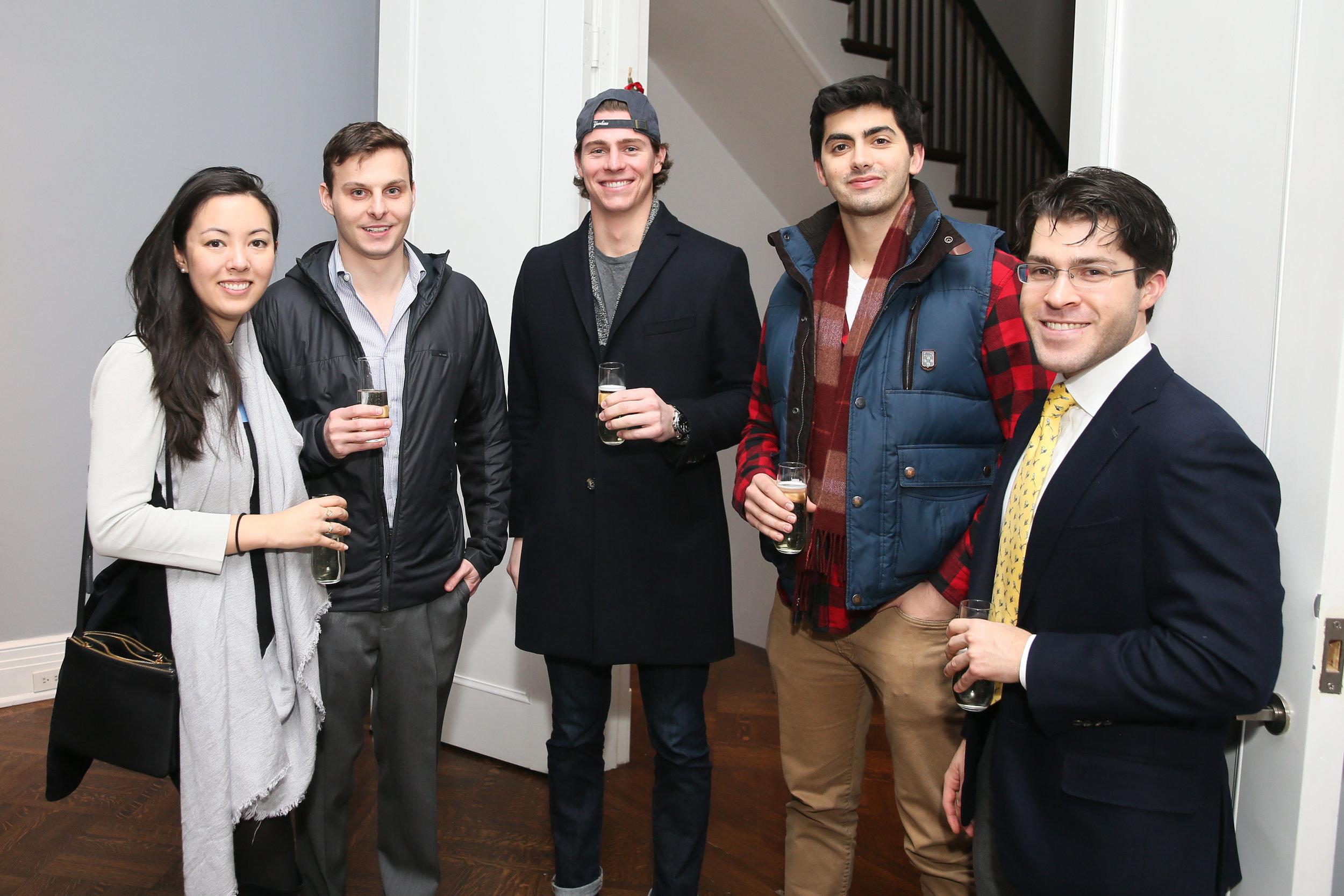 From left: Vicki Morton, Mason Krause, Jack Lorge, Teddy Nass, Ethan Goldstein.Photo credit: Noa Griffel for BFA