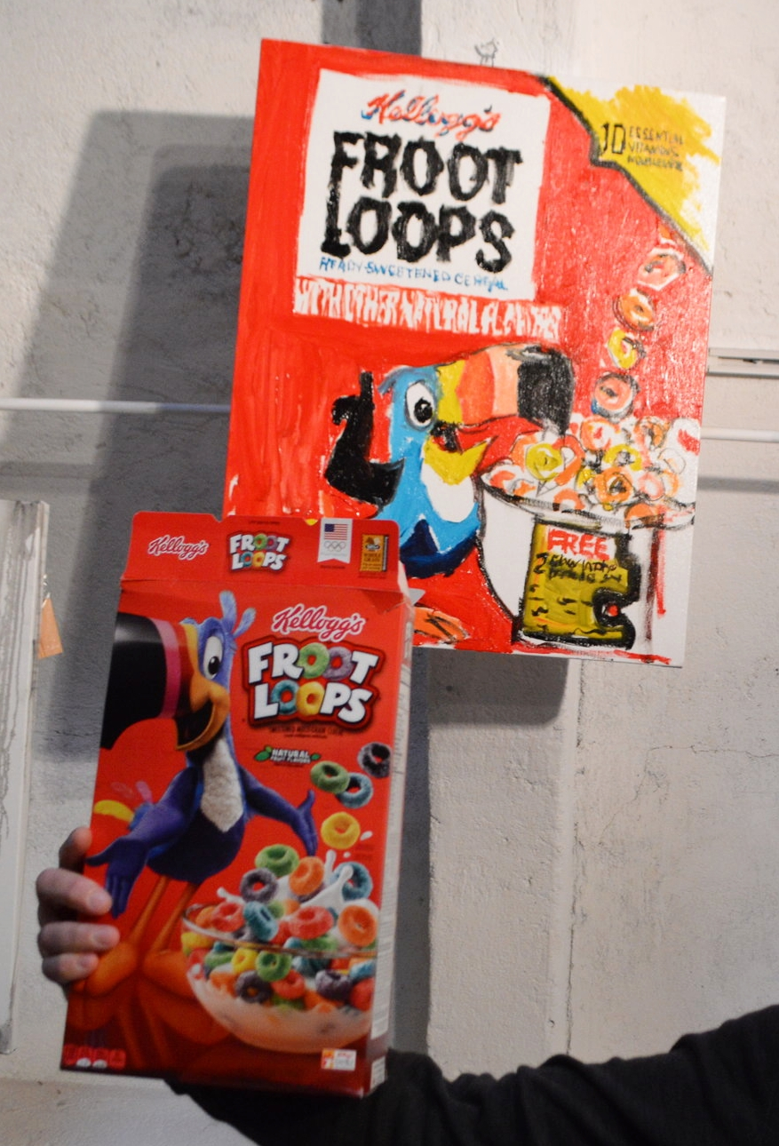 Mitchell Schorr Cereal Boxes