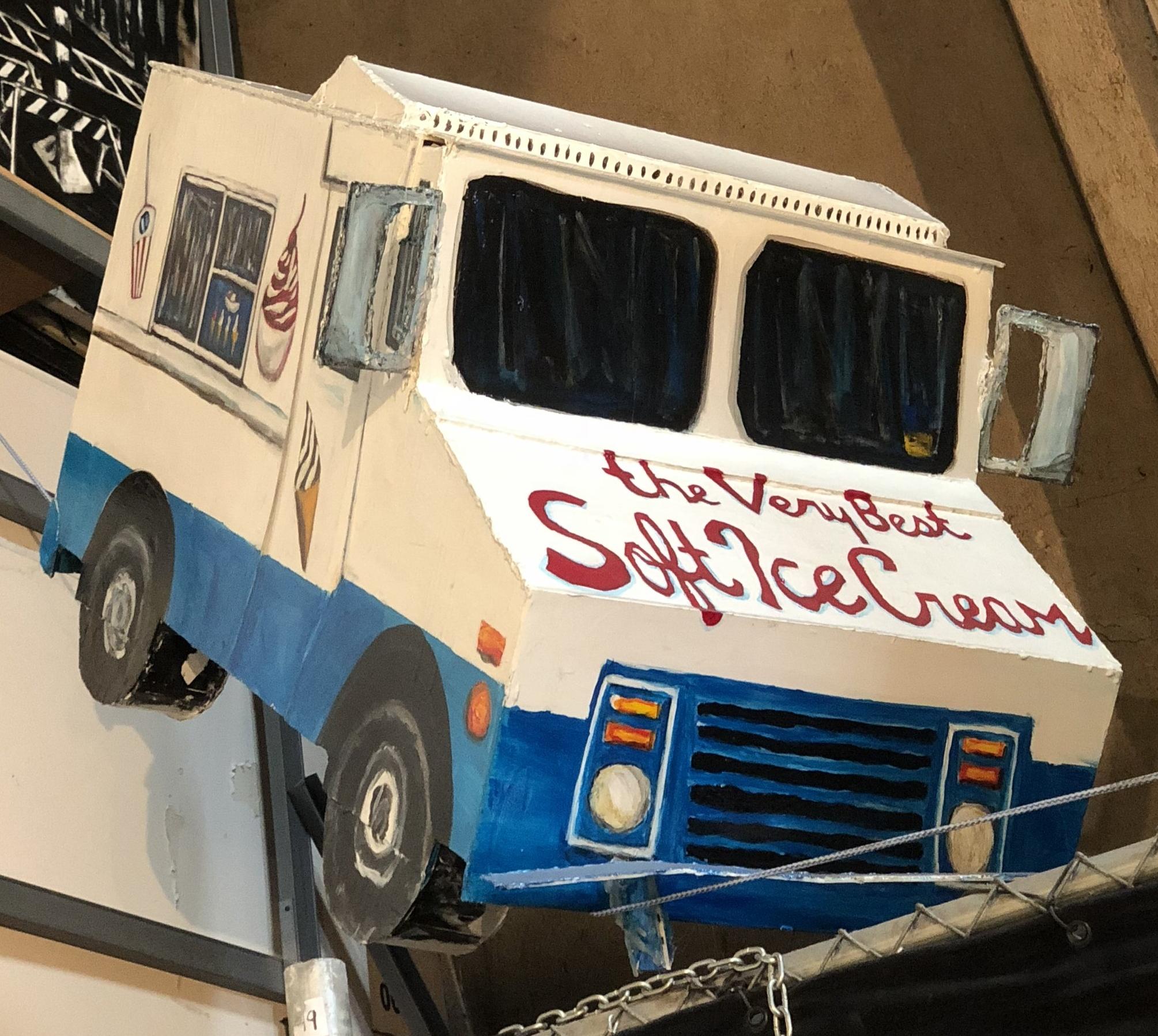 Mitchell Schorr Ice cream truck