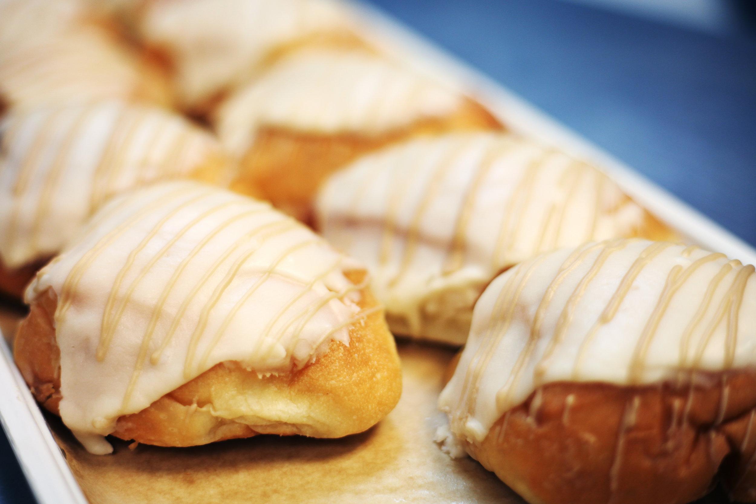 Pumpkin Cream Doughnuts
