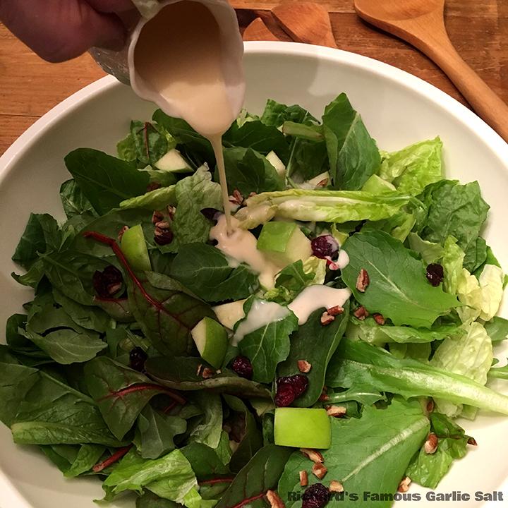 Richard's Famous Winter Waldorf Salad with Lemon Honey Dressing