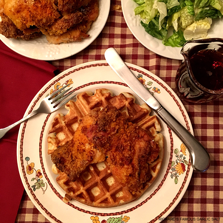 Richard's Famous Oven-Baked Chicken 'n' Waffles