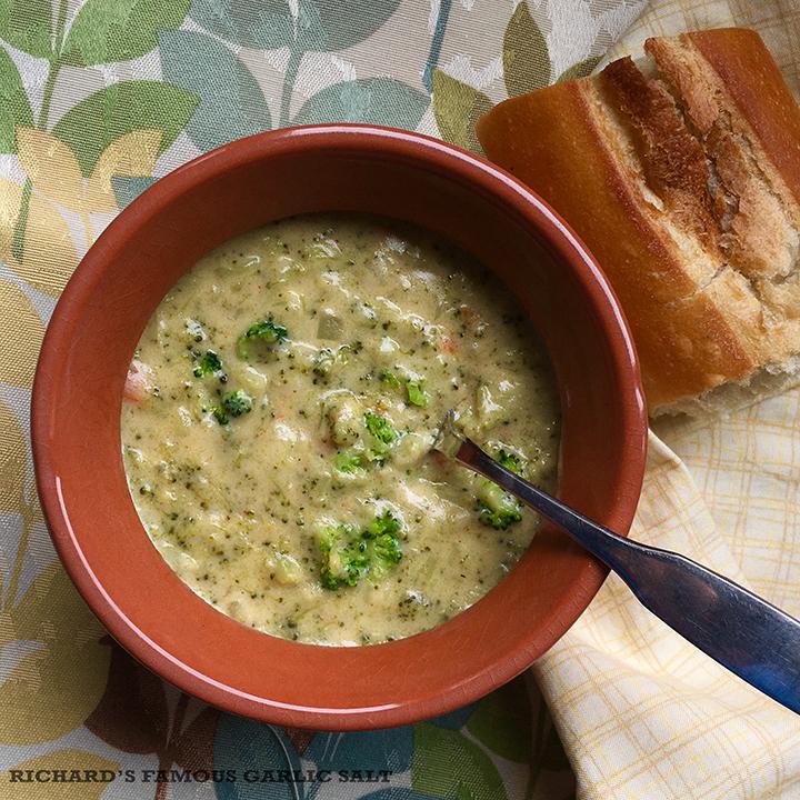 Virginia's Broccoli Cheddar Soup