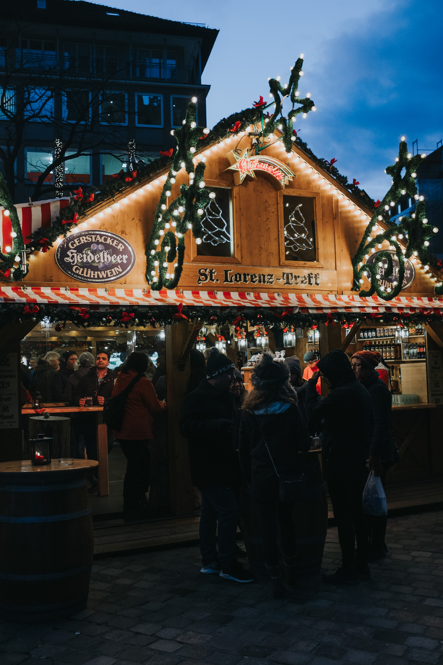 Nuremberg Christmas Market travel photograph