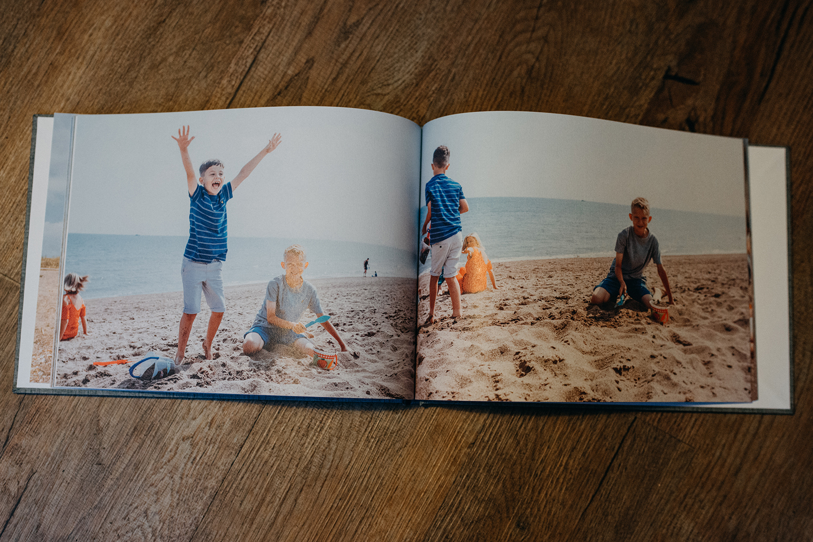 family photography book