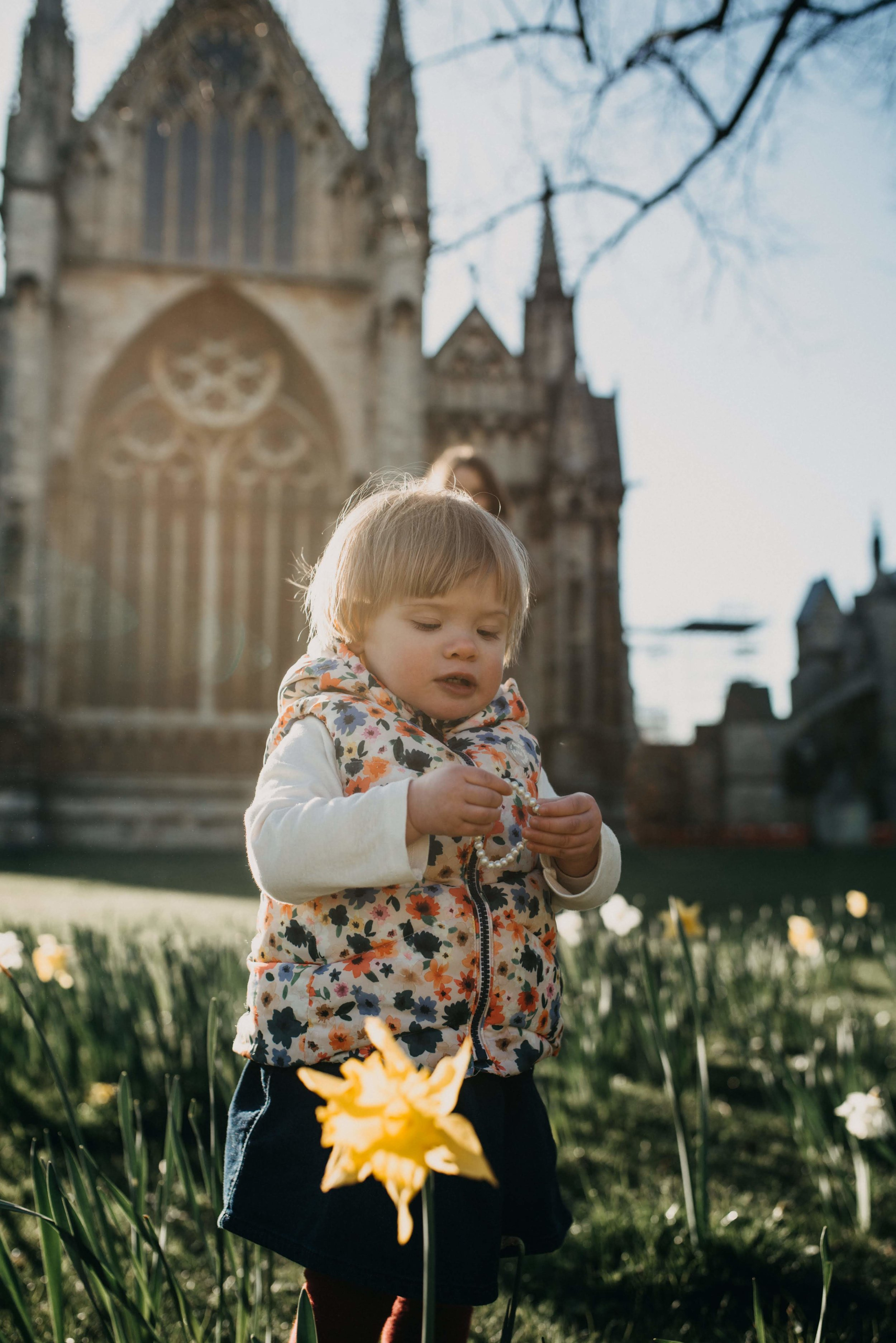 Lincoln Cathedral child photography