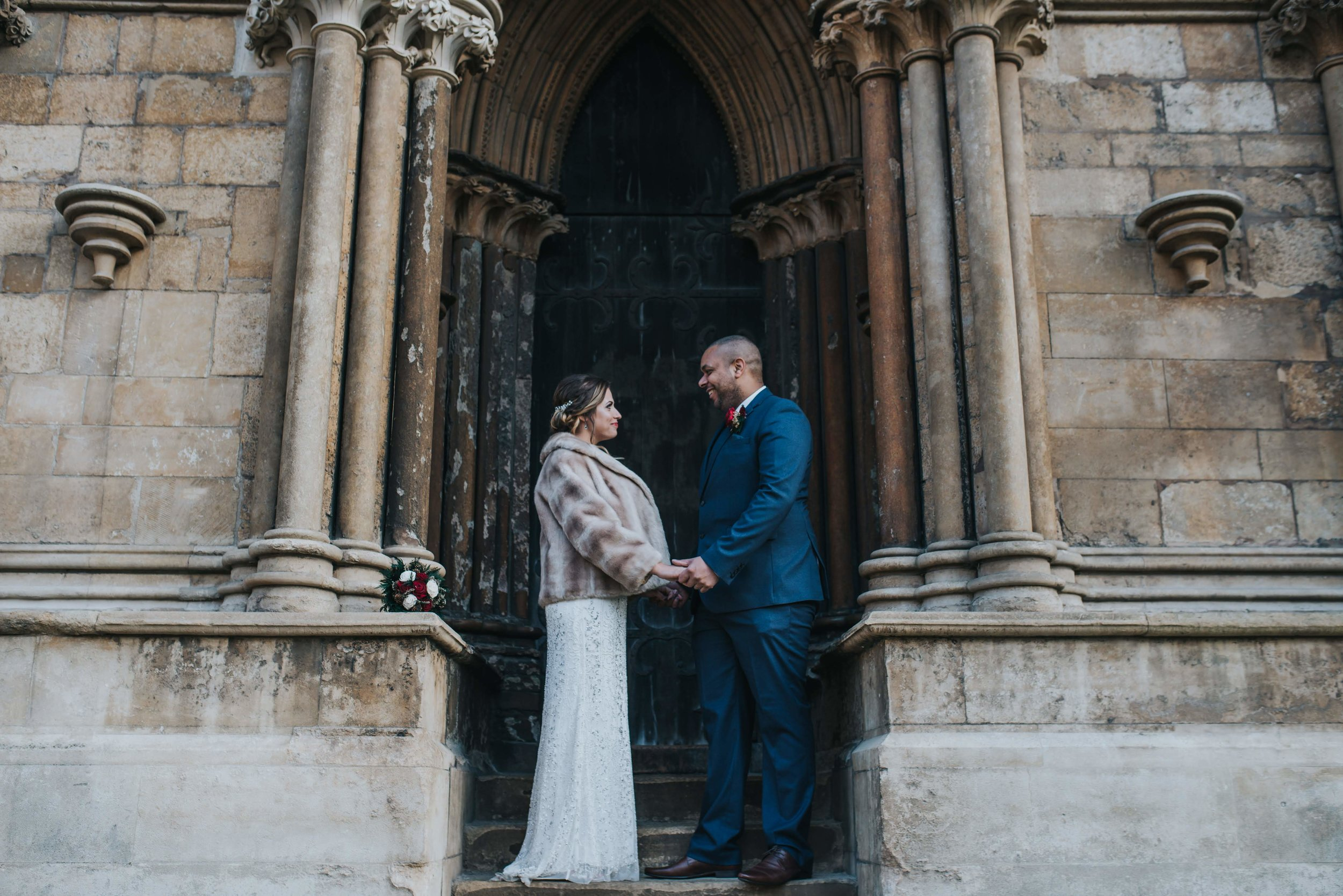 Lincoln Cathedral wedding photography