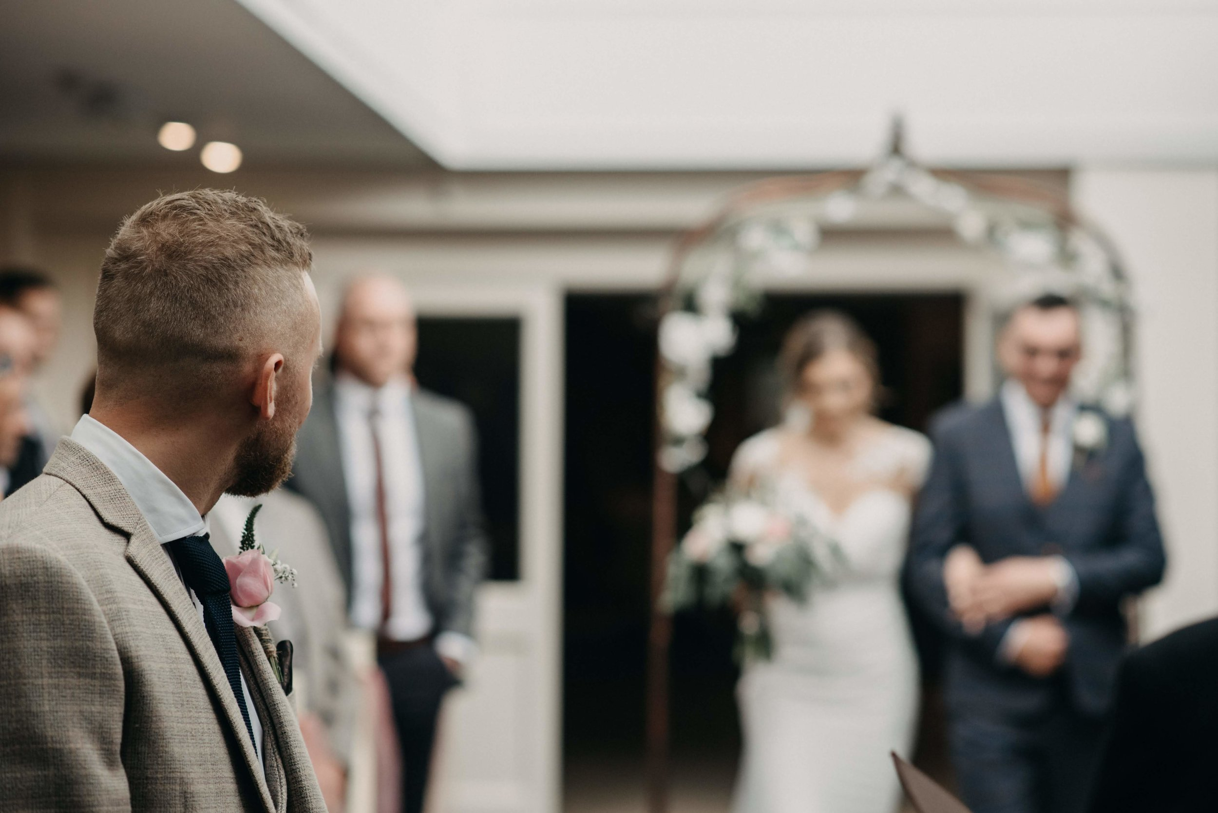 Lincoln wedding photography at The White Heather