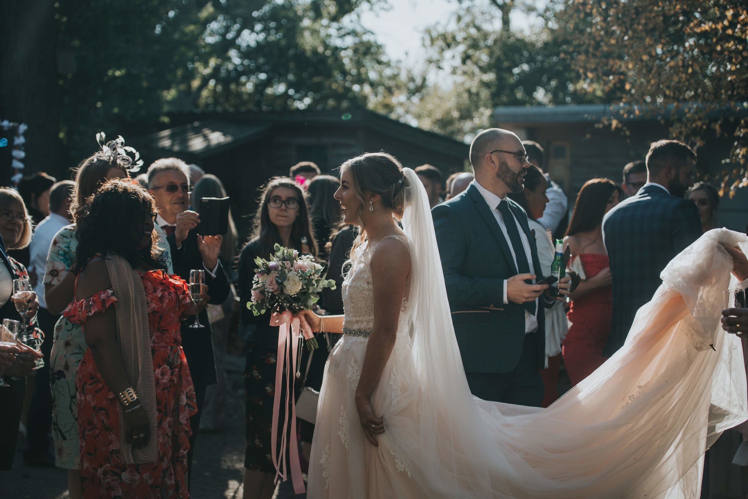 Lincolnshire wedding photography - Hill Holt Wood