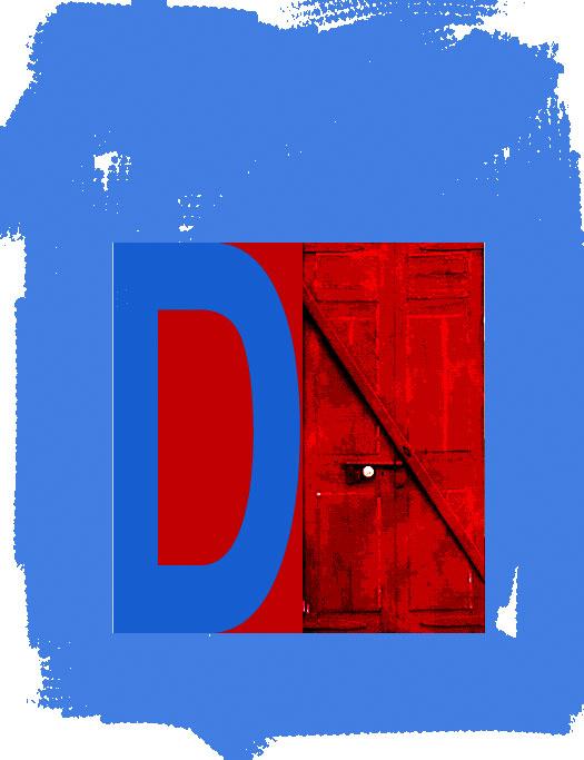 D/Next Door, 1993  Digital Painting