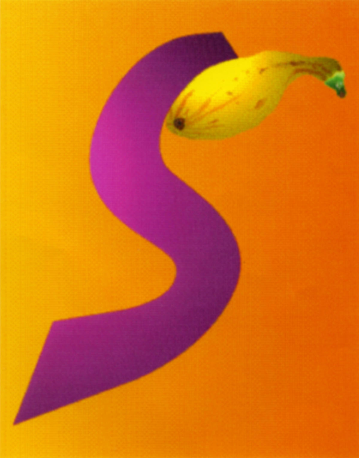 S/Squash.1998  Digital Painting