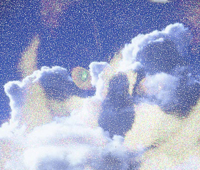 Chipper in Sky, 2005  Digital Painting