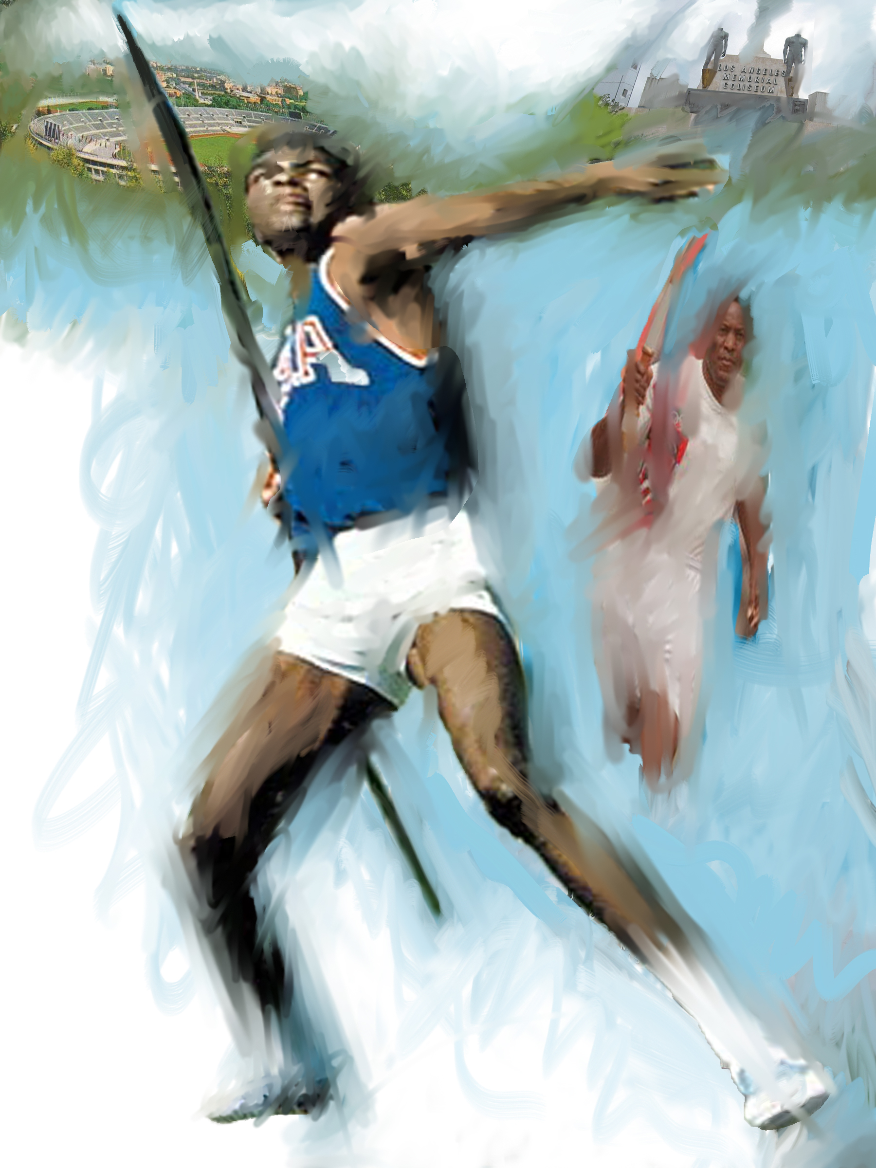 Rafer Johnson, 2013  Track and Field