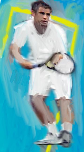 Pete Sampras, 2013  Tennis