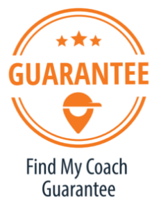When you book with Find My Coach we promise to satisfy you 100%. If you're not happy with your session, we will make it right.