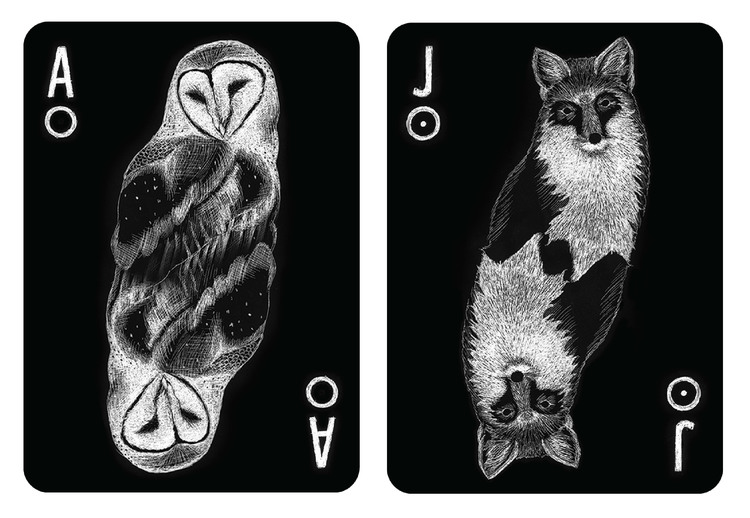 Spirit Animal Playing Cards