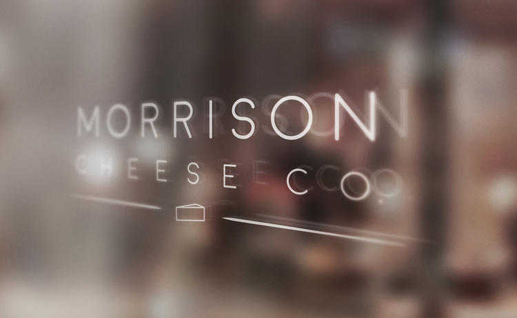 Morrison Cheese Co. Branding