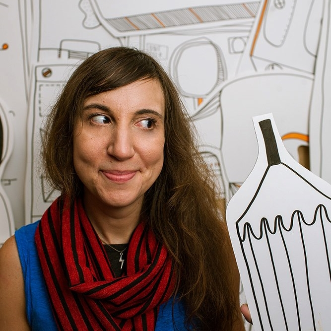 KATE BINGAMAN BURT / Portland   Illustrator, Educator, Author