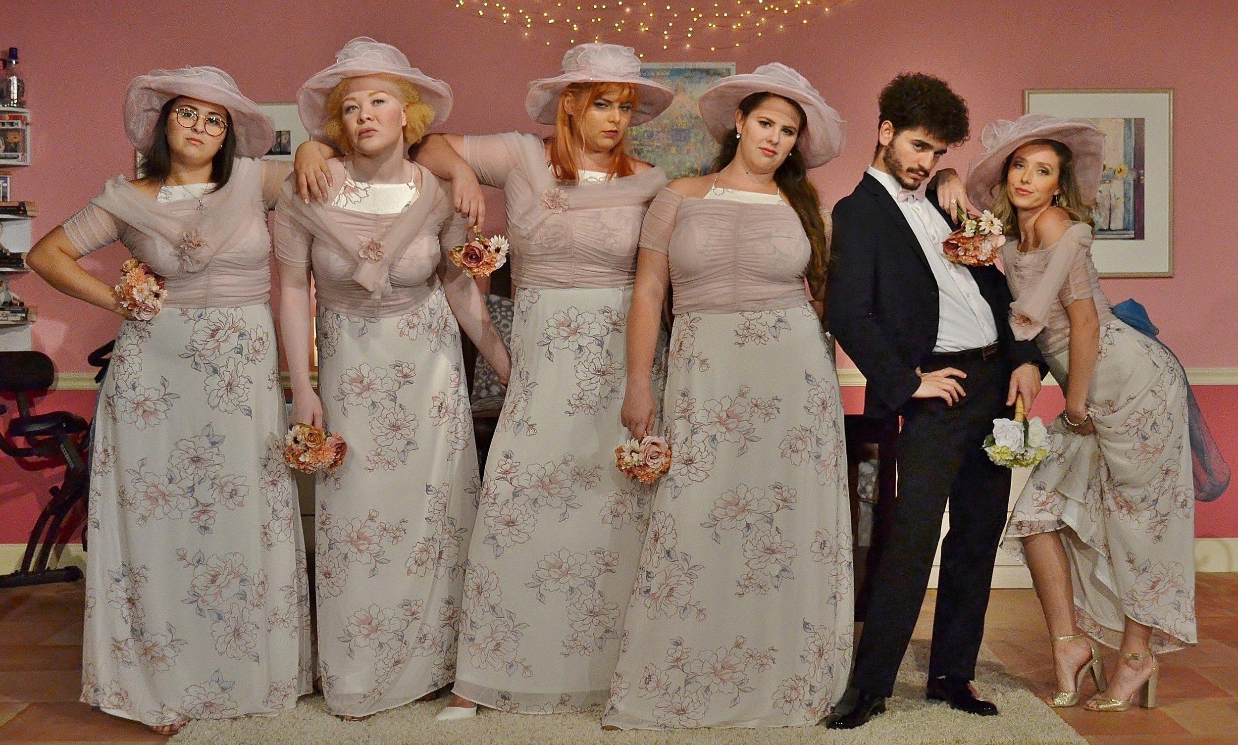 Five Women Wearing the Same Dress / July 2018