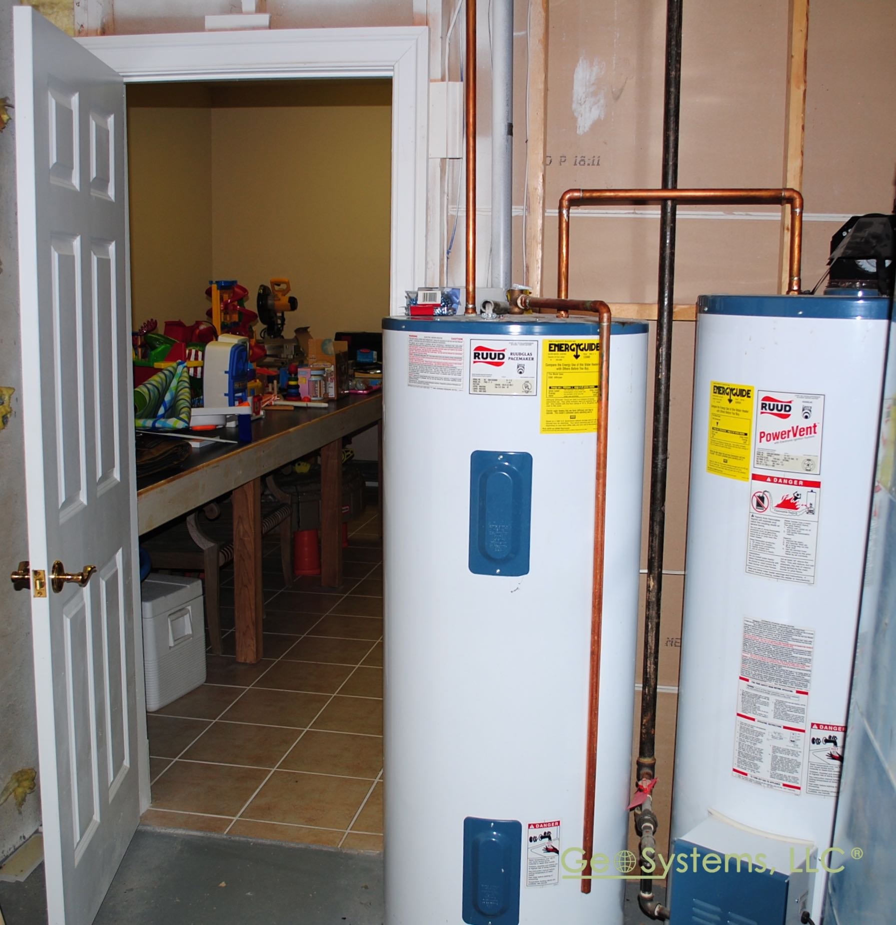 Water Source Heat Pumps Produce Free Hot Water