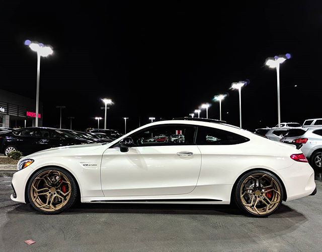 Things are just things but ever since I surrendered my life to the man above and got sober, I've been able to experience some pretty cool things! This one is very close to the top! #TreatYourselfDontCheatYourself #AMG #C63