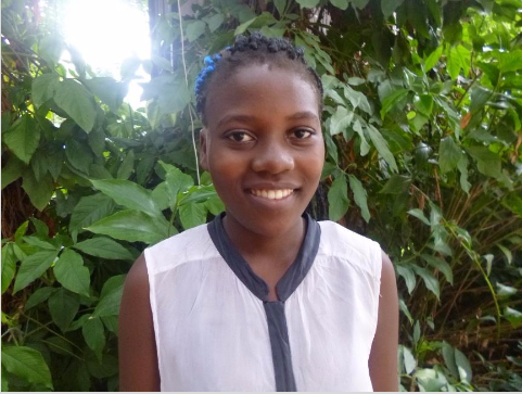 Blessed Simalimu - Blessed's favorite subject is Science. She would like to become an accountant when she finishes school!