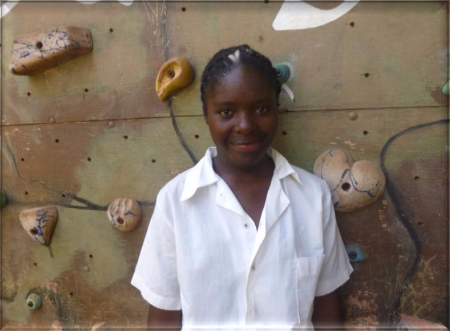Justina Daka - Justina's favorite subject is science. She would like to become a doctor when she finishes school!