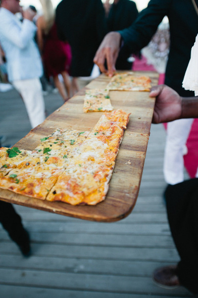 Italian Pizza - via  StyleMePretty.com