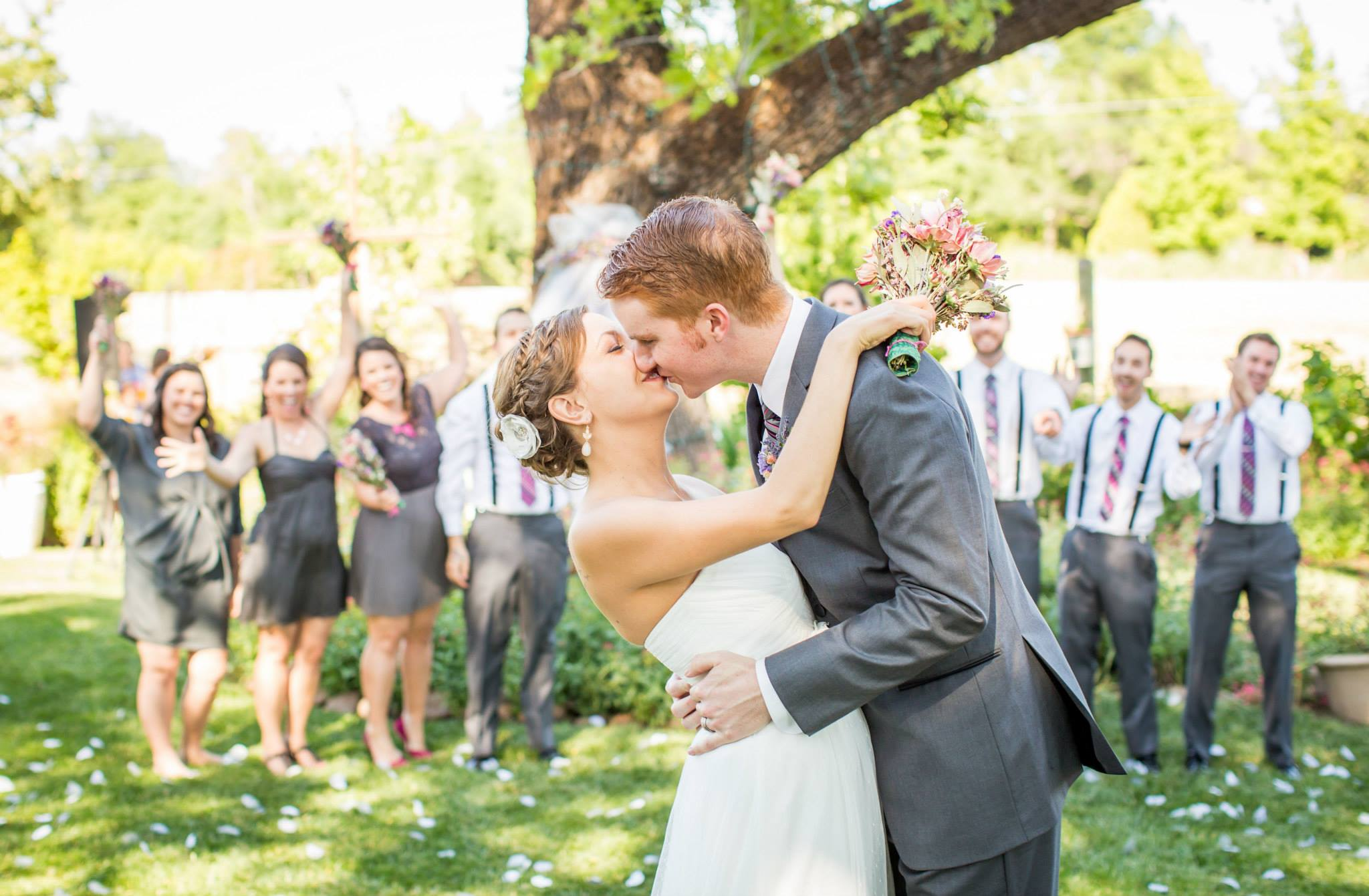 One of our amazing couples, Image via  Katelyn Owens Photography