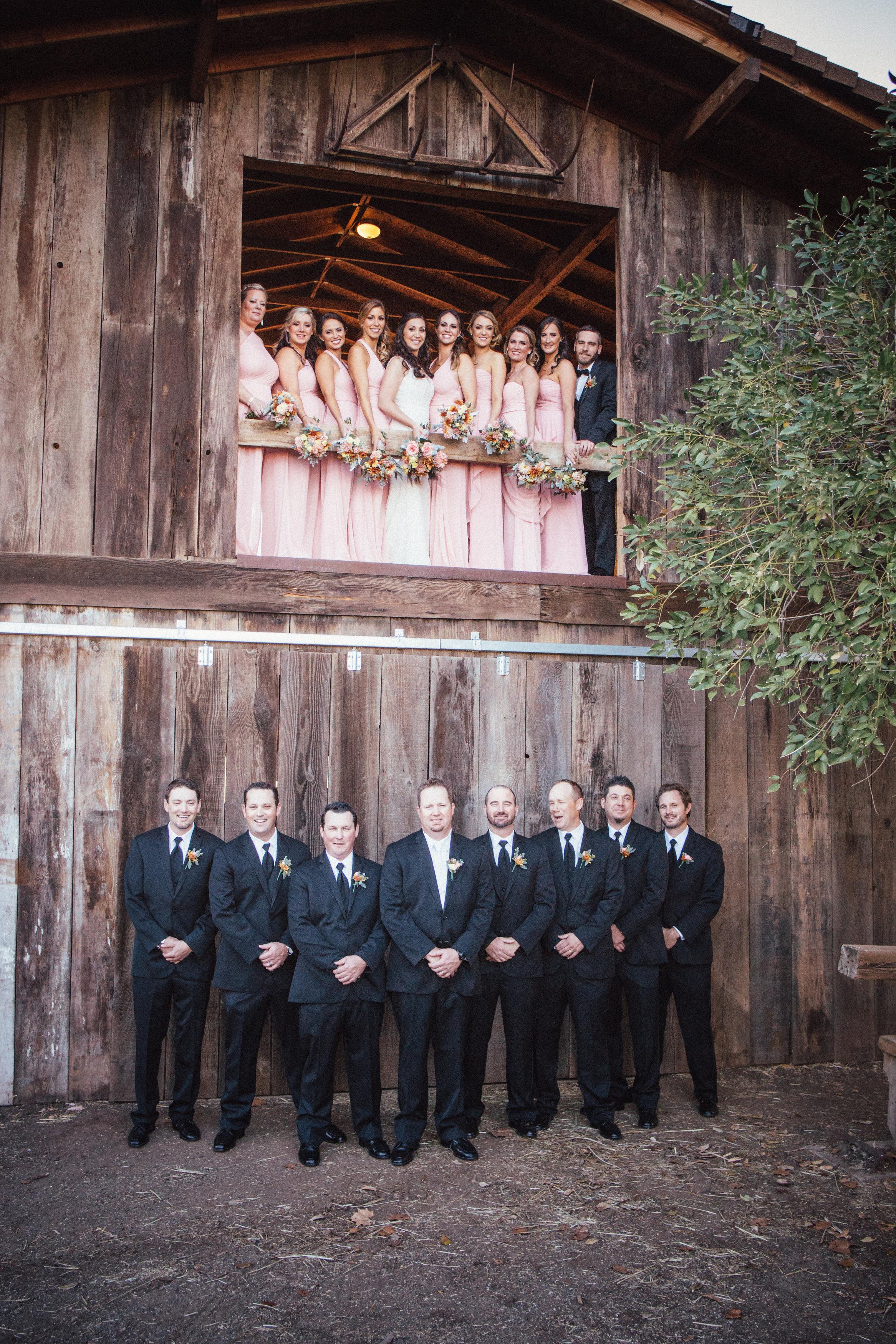 Terri & Albert Wedding Party