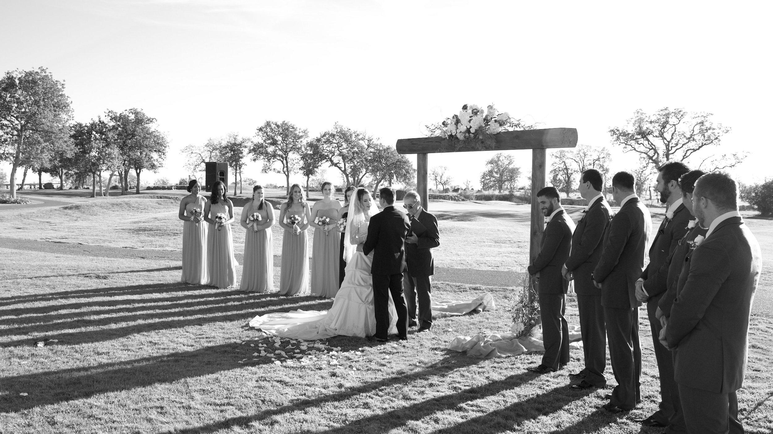 Jackie & Kevin Ceremony Photo