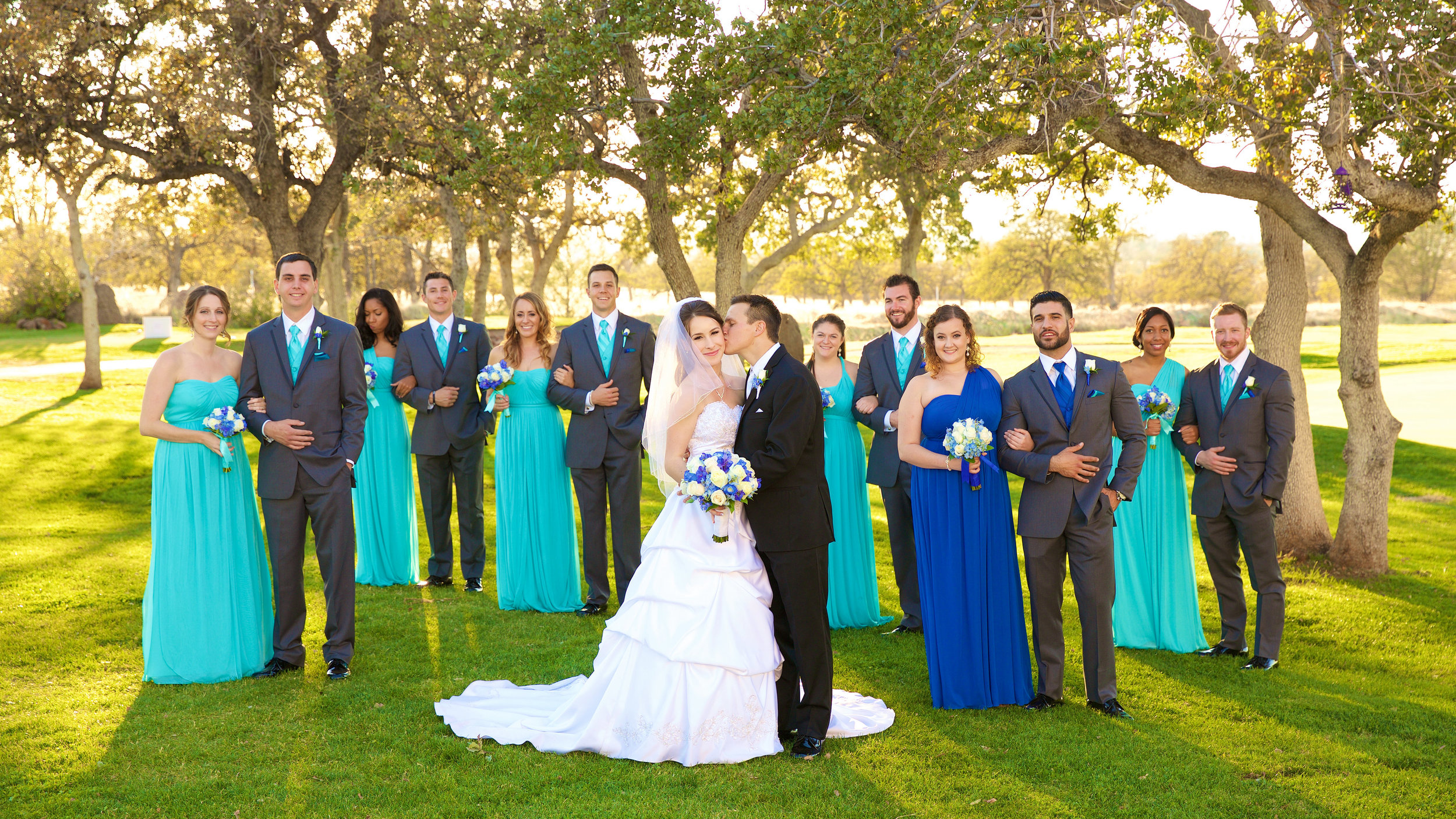 Jackie & Kevin Wedding Party