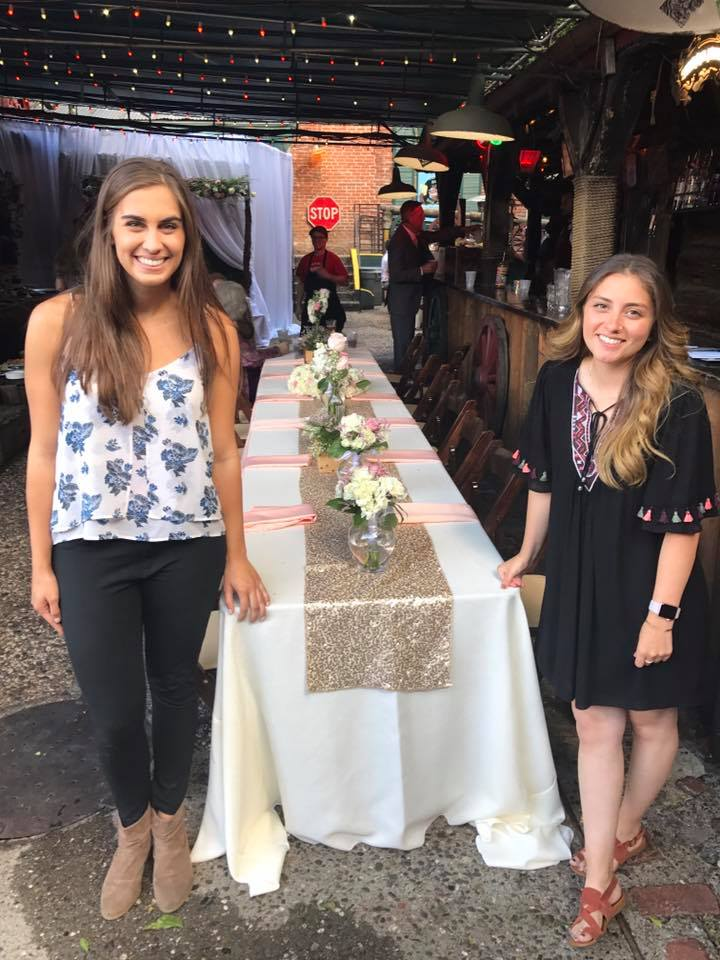 Stephanie and Mely, Wedding Assistants
