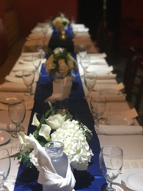 Photo of a recent intimate wedding at Two Twenty Restaurant in Chico