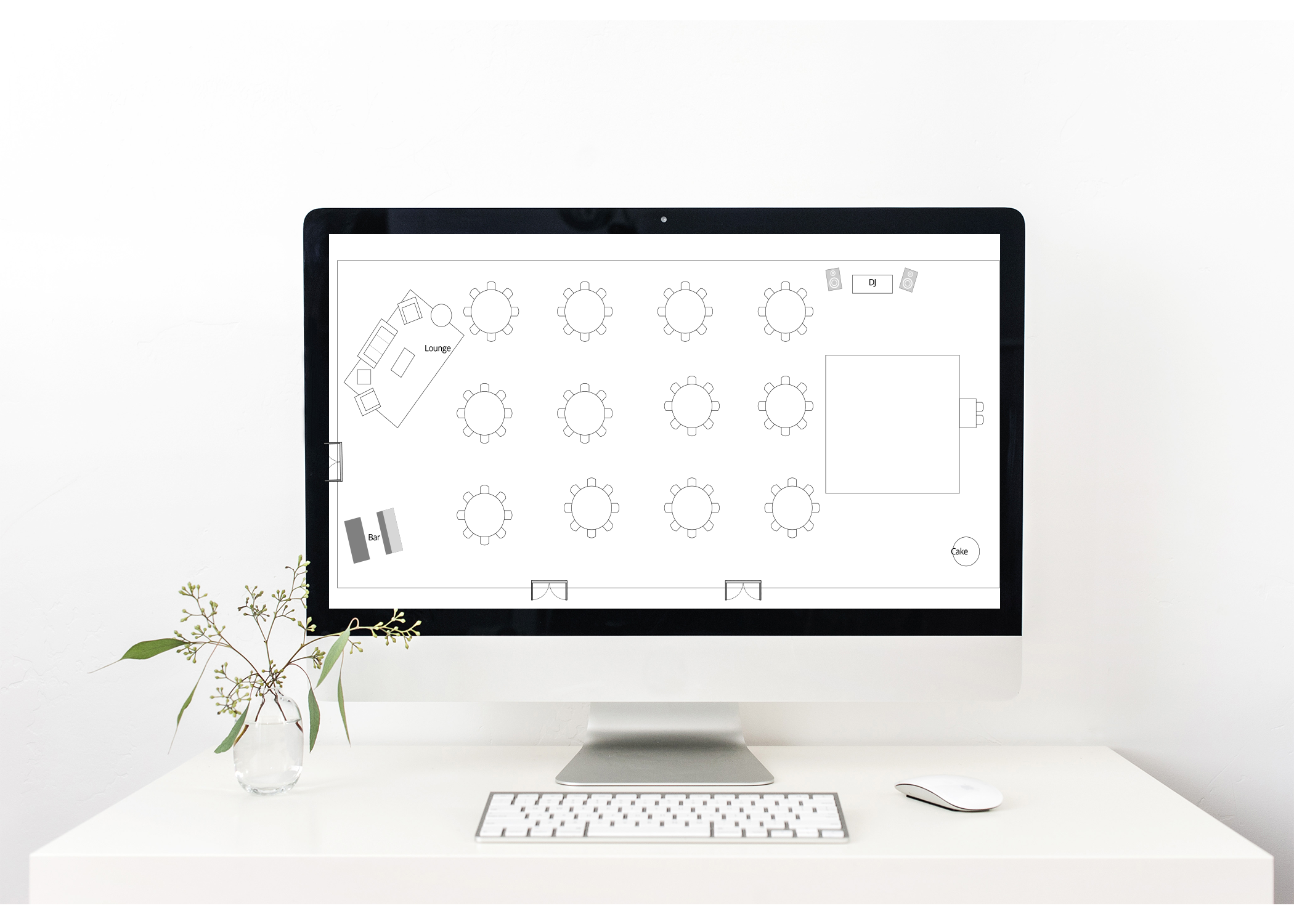 Planning tools - As our client you will enjoy 24/7 access to your personalized planning dashboard where we collaborate with you on your comprehensive planning checklist, design gallery, vendor selection process, timeline, layout tools, budget & guest management tools to name a few!