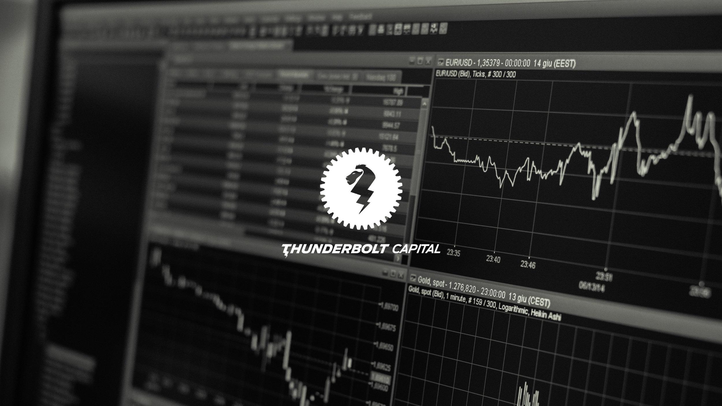 Thunderbolt Capital - Webapp design