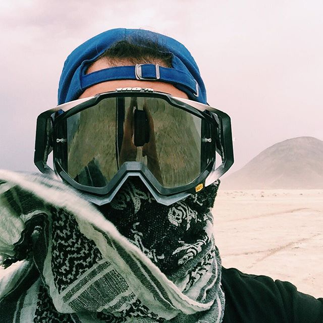 Sometimes sandstorms can be fun.