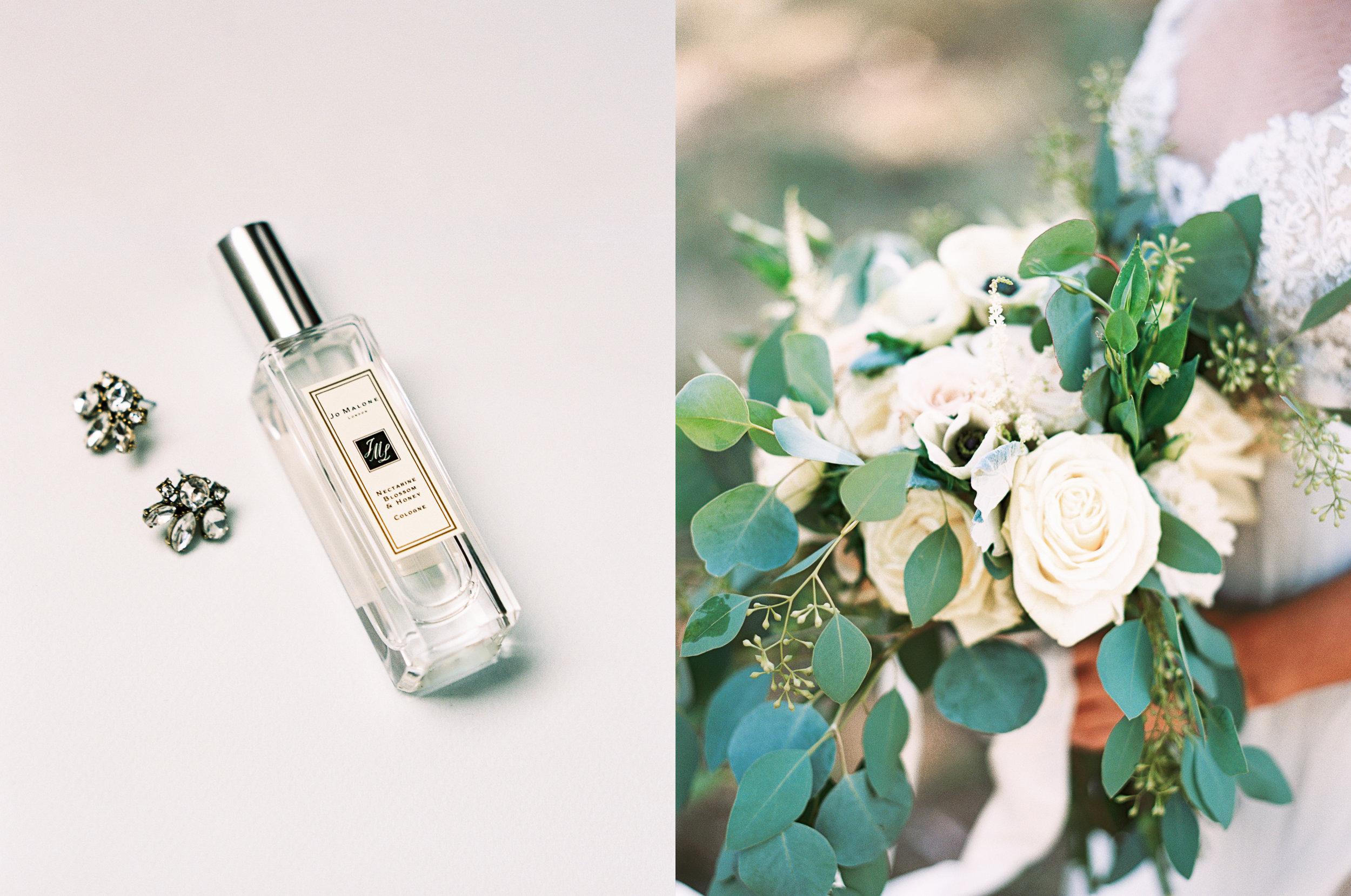 bridal jewelry earrings accessories perfume