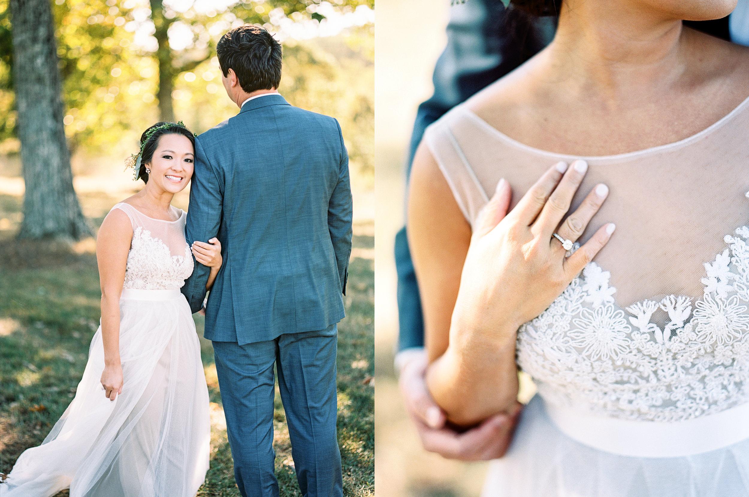 Georgia wedding photographer film Portra 400