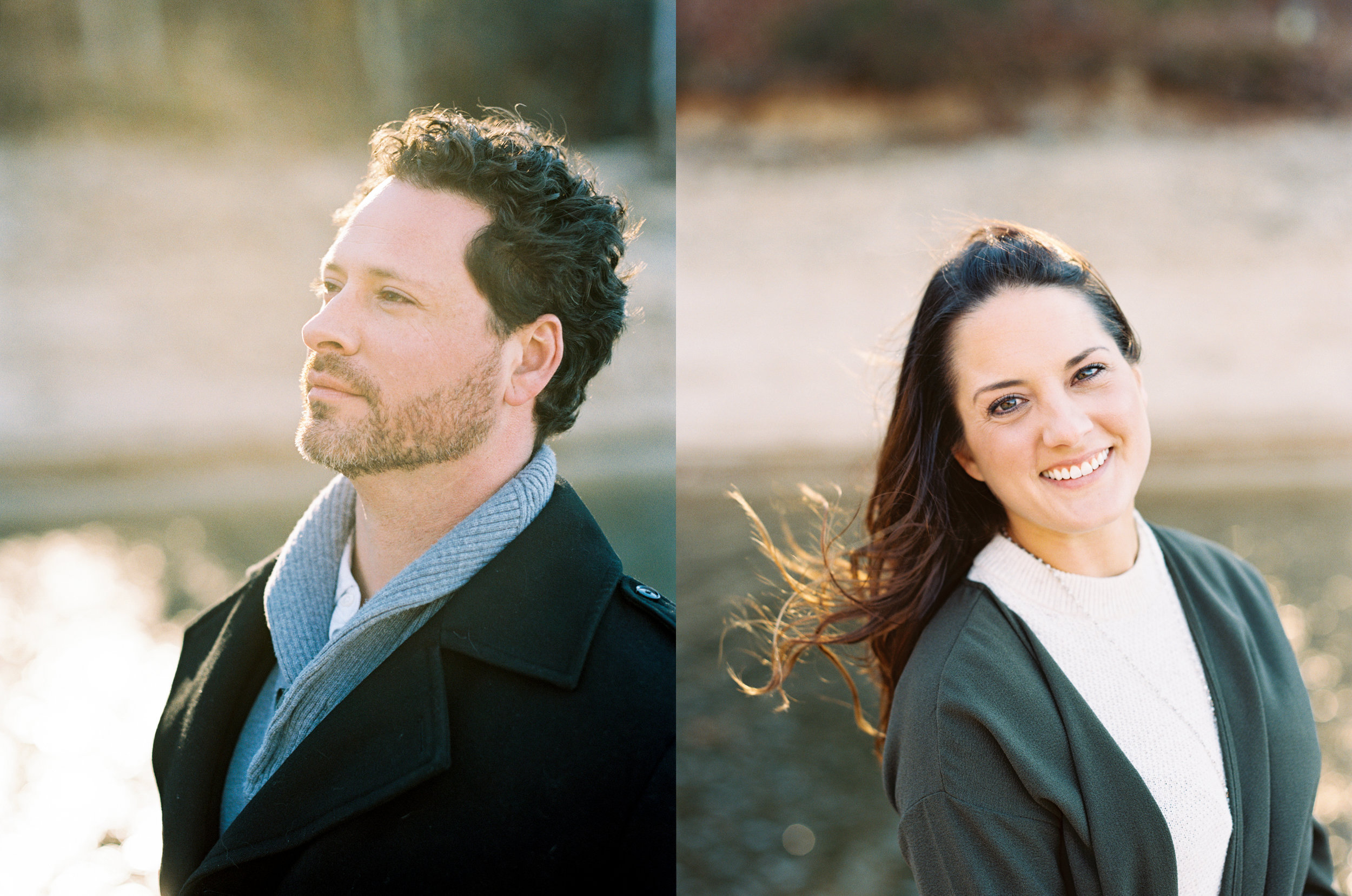Lake Keowee wedding photography fine art film