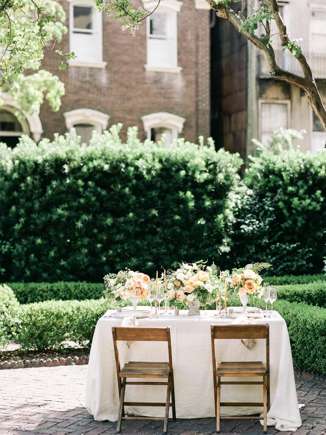 Savannah wedding flowers rentals tents