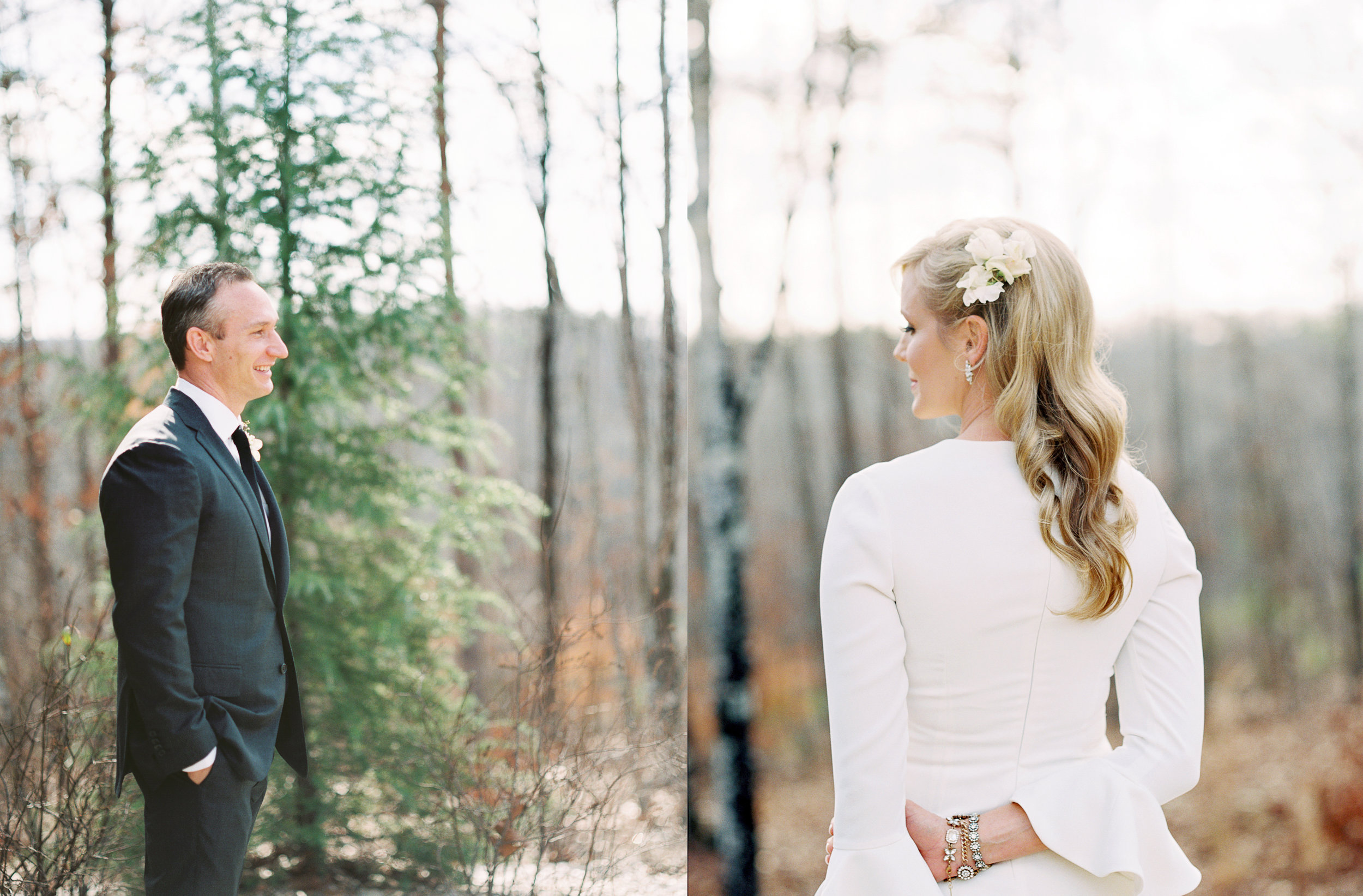Barnsley Gardens Wedding Photographer Film
